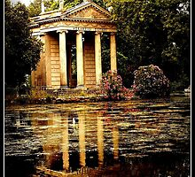 Temple on the lake! by silvycanta94