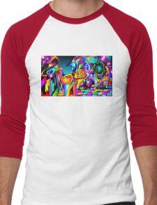 Circle of Life Men's Baseball ¾ T-Shirt