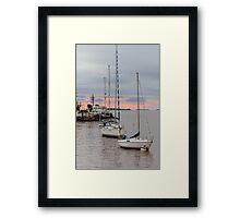 Sunset Framed Print