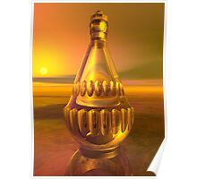 Decanter Sunset Poster