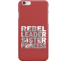 Leia iPhone Case/Skin