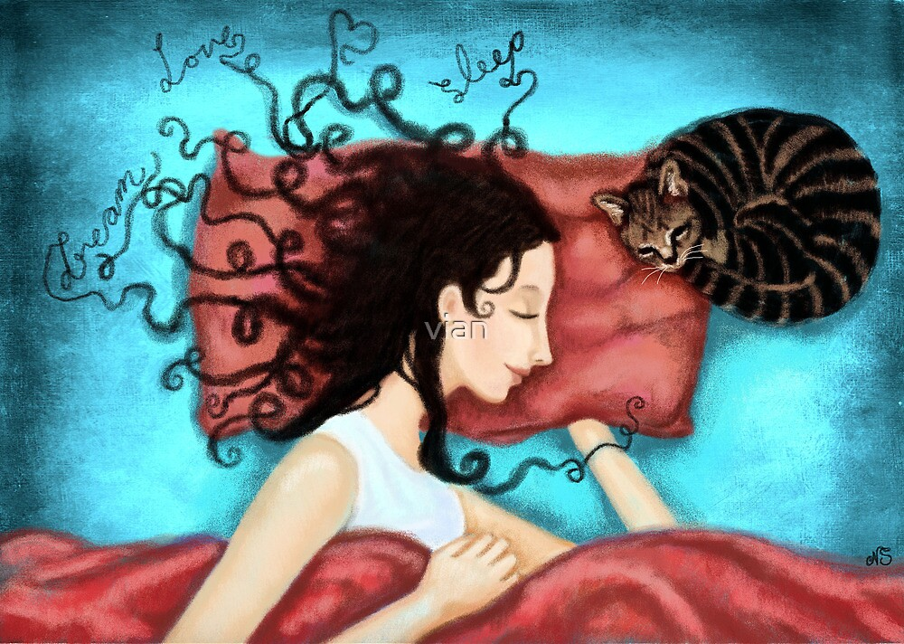 dream, love, sleep by vian
