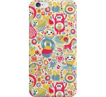 Cute and crazy. iPhone Case/Skin