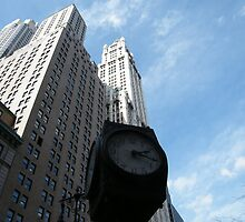 Classic Clock, Woolworth Building, Lower Manhattan by lenspiro