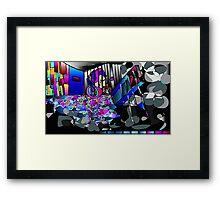 Emotional Colors Framed Print