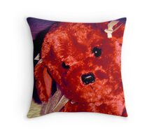 Teddy's Friend, Lolly-Pup Throw Pillow