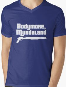 Bodymore, Murdaland Mens V-Neck T-Shirt