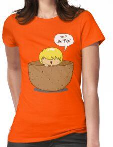 Peeta.. inside a PEETA. PEETA-CEPTION. Womens Fitted T-Shirt