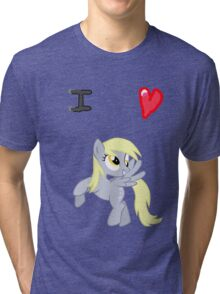 I <3 Derpy Tri-blend T-Shirt