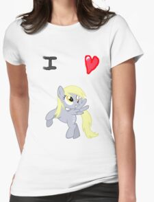 I <3 Derpy Womens Fitted T-Shirt