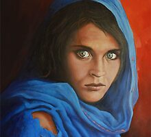 Afgan Girl by eric shepherd