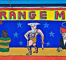 Strange Men at the Side Show @ Coney by Sassafras