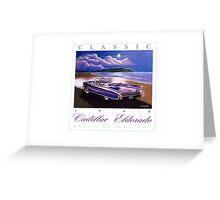 1960 Cadillac Eldorado Biarritz Convertible ver 2 Greeting Card