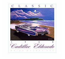 1960 Cadillac Eldorado Biarritz Convertible ver 2 Photographic Print