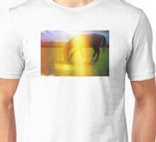 Horse in Light Leak Heaven Unisex T-Shirt