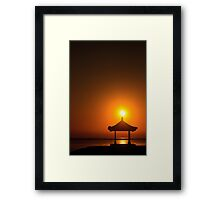 A Quiet Morning Framed Print
