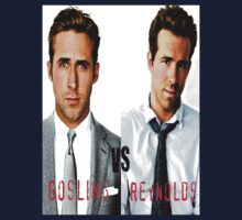 Gosling VS Reynolds by Emily Draper