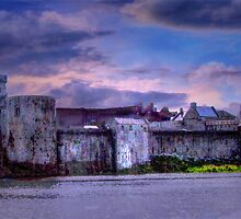 Fortress - King John's Castle, Limerick, Ireland by Mark Richards
