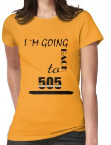 505  Womens Fitted T-Shirt