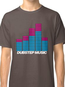 Equalizer Dubstep Music (dark) Classic T-Shirt