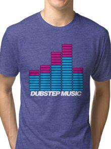Equalizer Dubstep Music (dark) Tri-blend T-Shirt