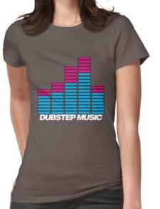 Equalizer Dubstep Music (dark) Womens Fitted T-Shirt