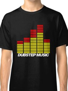 Equalizer Dubstep Music (red/yellow) Classic T-Shirt