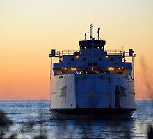 Cross Sound Ferry   Orient Point, New York  by © Sophie W. Smith