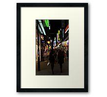 Korean Nights Framed Print