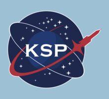 KSP Space Agency logo Kids Tee