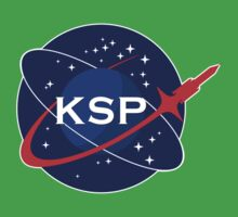 KSP Space Agency logo Kids Clothes