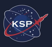 KSP Space Agency logo Kids Tee