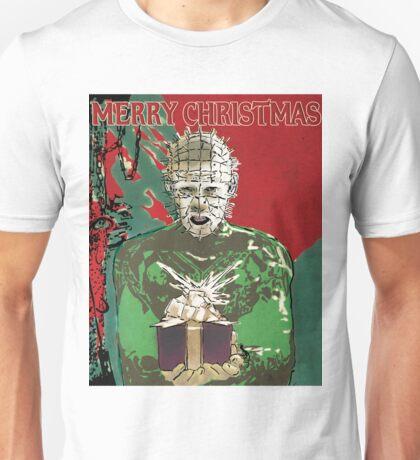 Merry Christmas Pinhead Unisex T-Shirt