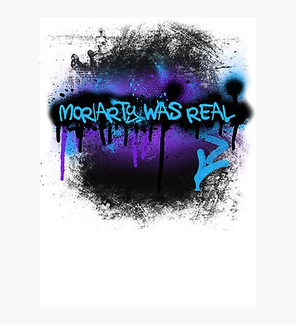 Moriarty was real (dusk) Photographic Print