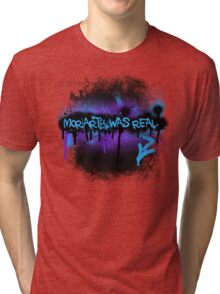 Moriarty was real (dusk) Tri-blend T-Shirt