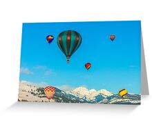 2012 Winthrop Balloon Roundup Greeting Card