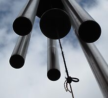 Wind chimes by causeofb