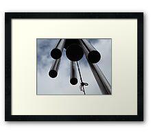 Wind chimes Framed Print