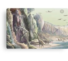 Out of the Slime of the Waters Canvas Print