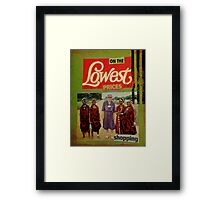 on the lowest prices shopping Framed Print