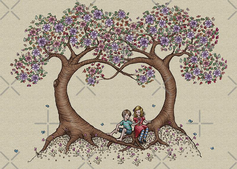 blossom trees by vian