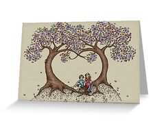 blossom trees Greeting Card