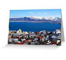 Reykjavik, Iceland Greeting Card