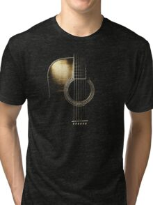 Acoustic Guitar Lite (please see description) Tri-blend T-Shirt