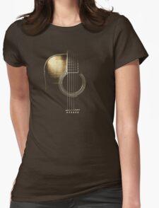 Acoustic Guitar Lite (please see description) Womens Fitted T-Shirt