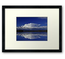 The Calm Before . . .  Framed Print