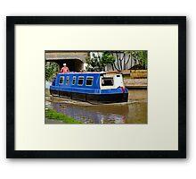 Canal Barge Framed Print