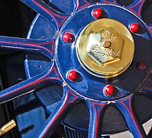1910 Pope Hartford Model T Wheel by Jill Reger