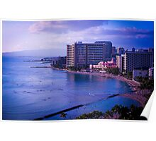 Waikiki Beach | Honolulu HI (2012) Poster