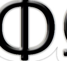 The Dishonor Society Sticker